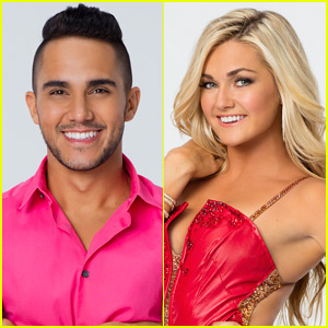Carlos PenaVega Earns Three 10s For Quickstep With Lindsay Arnold on 'DWTS' - Watch Now!