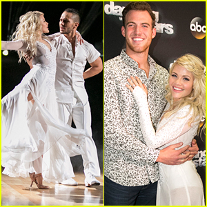 Witney Carson Poses With Fiance Carson McAllister After Waltzing With Carlos PenaVega on DWTS