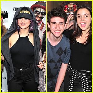 Bailee Madison Celebrates Sweet 16 Birthday At Knott's Scary Farm With Selena Gomez!