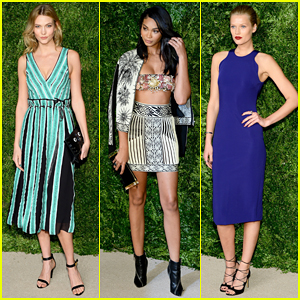 Karlie Kloss & Chanel Iman Bring Their Style To CFDA/Vogue Fashion Fund Awards!