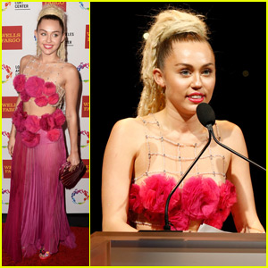 Miley Cyrus Rocks Dreadlocks for LGBT Center Vanguard Awards 2015