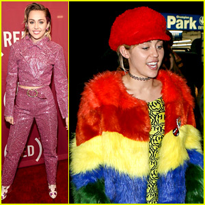 Miley Cyrus Sings 'One' with U2 After Her Rainbow Outing!