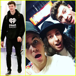 Shawn Mendes Says He's a Better Hockey Player Than Pal Justin Bieber