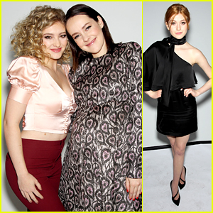 Willow Shields Reunites With Pregnant Jena Malone at NYFW