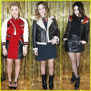 Chloe Moretz, Suki Waterhouse & Charli XCX Have Prom Party At Coach Paris Flagship Opening!