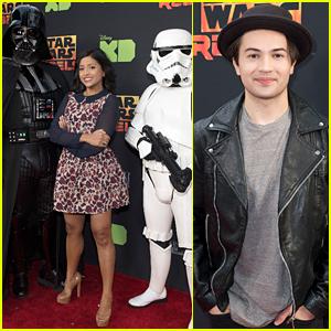 Tiya Sircar & Taylor Gray Hit The 'Star Wars Rebels' Season Two Finale Screening