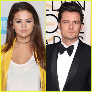 Selena Gomez Leaves Club With Orlando Bloom (Video)