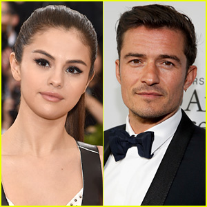 Selena Gomez Photographed Getting Cozy with Orlando Bloom in New Pictures