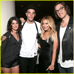 Ashley Tisdale Buddys Up With Shenae Grimes At 'Amateur Night' Premiere!