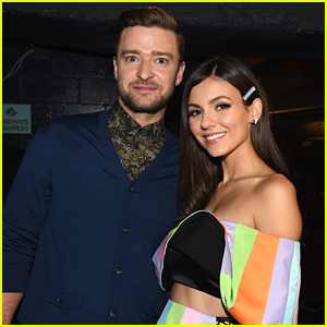 Victoria Justice Posts Ultimate Then & Now Pic with Justin Timberlake