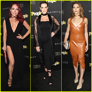 BFFs Sharna Burgess & Peta Murgatroyd Hit People's Ones to Watch Party Together