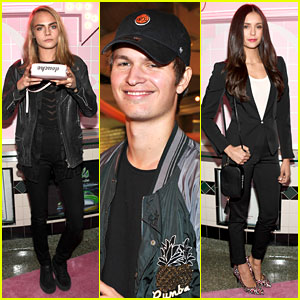 Cara Delevingne, Ansel Elgort, & More Support Pal Suki Waterhouse's New Line!