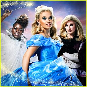 Lauren Taylor Magically Transforms Into Cinderella For 'A Cinderella Christmas'