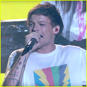 VIDEO: Louis Tomlinson Performs 'Just Hold On' During X Factor Finals - WATCH