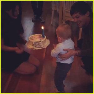 Louis Tomlinson's Son Freddie Turns 1 Year Old!