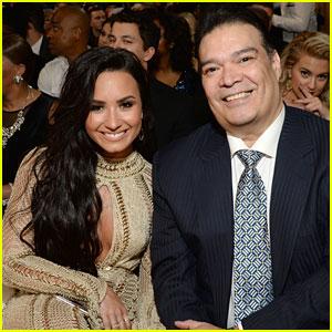 Demi Lovato's Date to Grammy 2017 Was Her Stepdad, Eddie