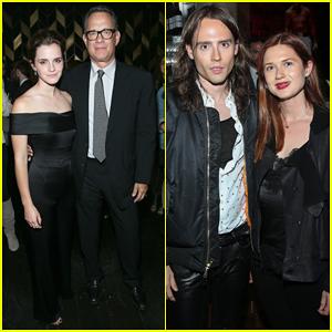 Emma Watson Has Mini 'Harry Potter' Reunion With Bonnie Wright!