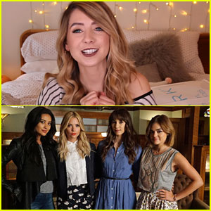 Zoella Sums Up What We're All Feeling About 'Pretty Little Liars' Final Episodes