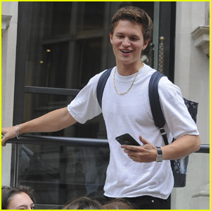 Ansel Elgort Takes the NYC Subway, Just Like Everyone Else