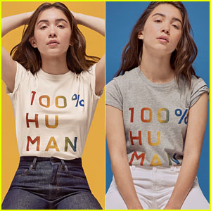 Rowan Blanchard Fronts the 100% Human Campaign to Support LGBTQ Rights