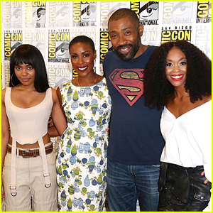 China Anne McClain Joins 'Black Lightning' Cast at Comic-Con