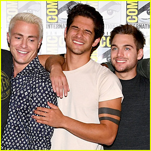 Colton Haynes Joins 'Teen Wolf' Cast at Comic-Con After Jackson Detail Revealed!