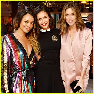 Nina Dobrev Has a 'Vampire Diaries' Reunion with Kat Graham, Kayla Ewell, & More!