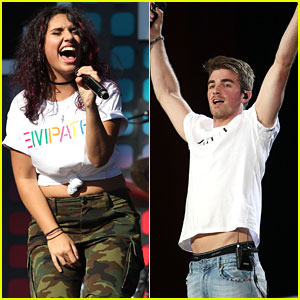 Alessia Cara & The Chainsmokers Perform at Global Citizen Festival 2017