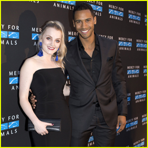 'Life Sentence' Star Elliot Knight & Evanna Lynch Step Out For 'Mercy For Animals' Gala