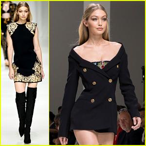 Gigi Hadid Feels 'Pride, Joy, & Honor' to Walk for Versace!