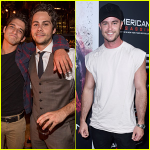Tyler Posey, Dylan O'Brien, & Ryan Kelley Have a 'Teen Wolf' Reunion!