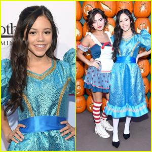 Jenna Ortega, Isabela Moner, In Real Life & More Step Out for Dream Halloween 2017