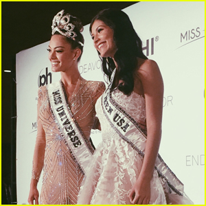 Miss Universe Demi-Leigh Nel-Peters & Miss Teen USA Sophia Dominguez-Heithoff Share Same Ideals About Pageants