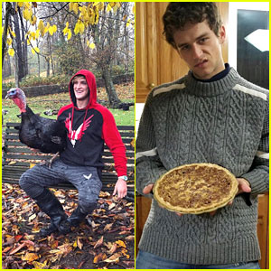 Logan Paul, Brandon Flynn & More Celebrated Thanksgiving In The Best Way