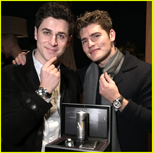 David Henrie Launches New M1 Energy Drink with Gregg Sulkin in LA