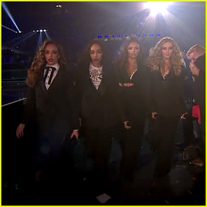 Little Mix Perform 'Power' & 'Reggaeton Lento' With CNCO on 'X Factor UK' - Watch Now!