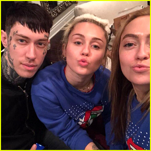Miley Cyrus Has a Christmas Eve Dance Party with Family! (Video)