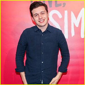 Nick Robinson Watches 'Love, Simon' for First Time with an Audience at Just Jared's Screening!