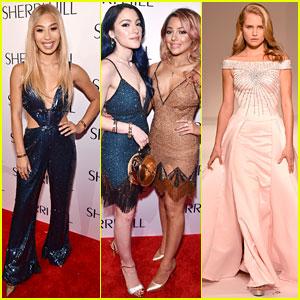 Eva Gutowski, Niki & Gabi, & More Support Sailor Brinkley-Cook at Sherri Hill Fashion Show
