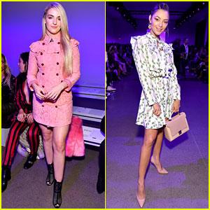 Rydel Lynch & Demi-Leigh Nel-Peters Stun at Dan Liu Fashion Show