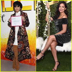 Vanessa Hudgens & Bethany Mota Attend Simply NYC Fashion & Beauty Conference