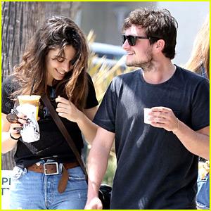 Josh Hutcherson Grabs Coffee with Longtime Love Claudia Traisac