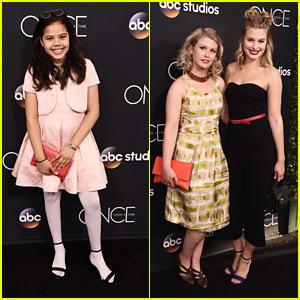 Alison Fernandez & Tiera Skovbye Celebrate 'Once Upon a Time' Series Finale