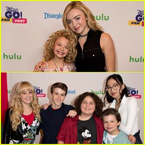 'Bunk'd' & 'Bizaardvark' Stars Meet Fans at Disney Channel's GO! Fan Fest!