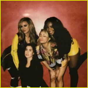 Lauren Jauregui Shares New, Maybe Last Fifth Harmony Group Pic