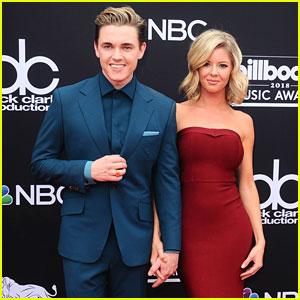 Jesse McCartney Brings Girlfriend Katie Peterson to Billboard Music Awards 2018