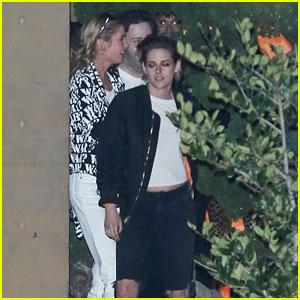 Kristen Stewart & GF Stella Maxwell Grab Dinner Together in Malibu!