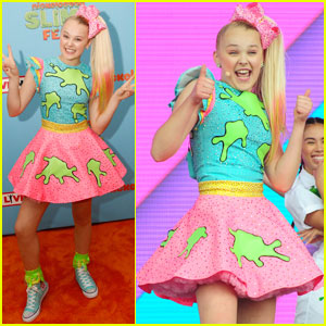 JoJo Siwa Rocks Out at Nickelodeon SlimeFest!