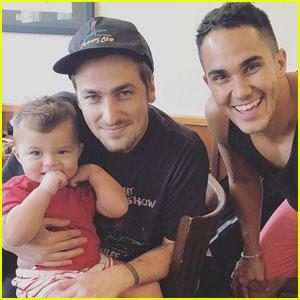 Kendall Schmidt & Carlos PenaVega Have Big Time Rush Reunion!