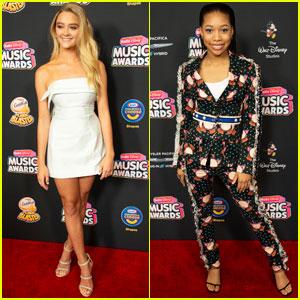 Lizzy Greene & Kyla Drew Simmons Look So Chic at Radio Disney Music Awards 2018